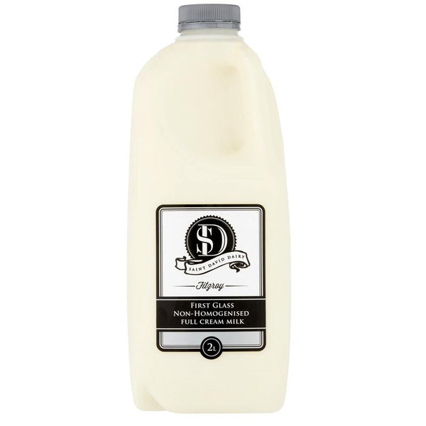 St David Dairy Non-homogenised Full Cream Milk 2L