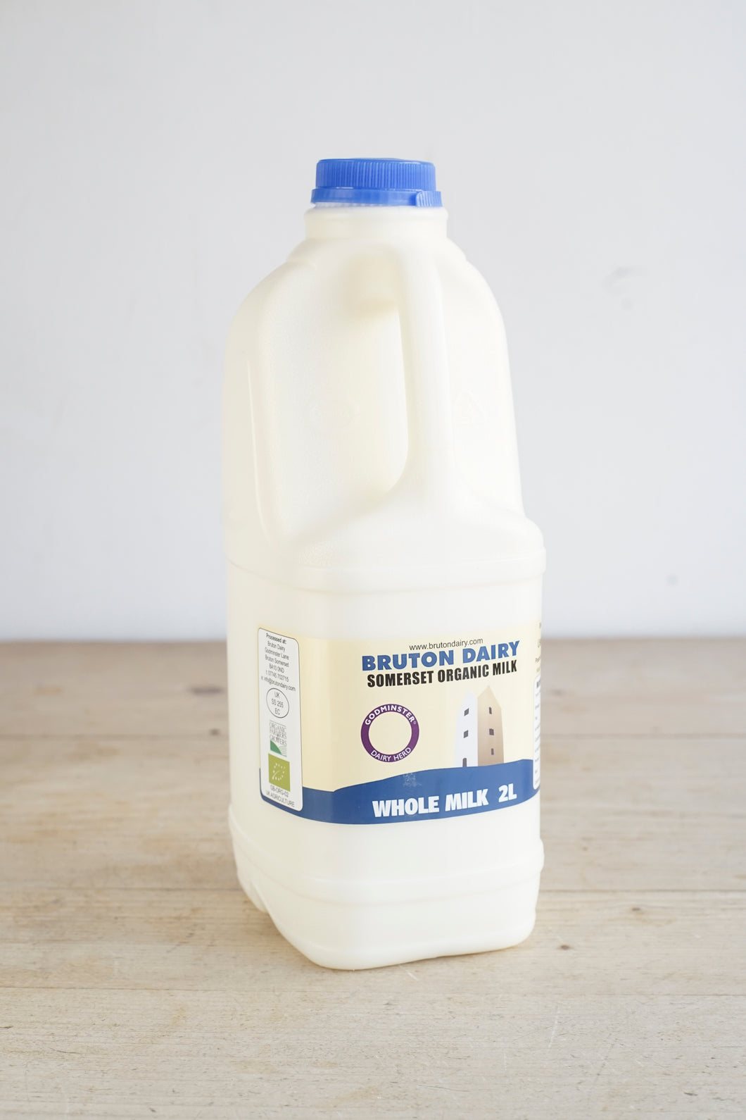 Bruton Dairy Organic Whole Milk