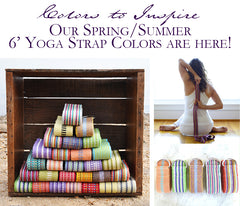 Yoga strap color that inspire