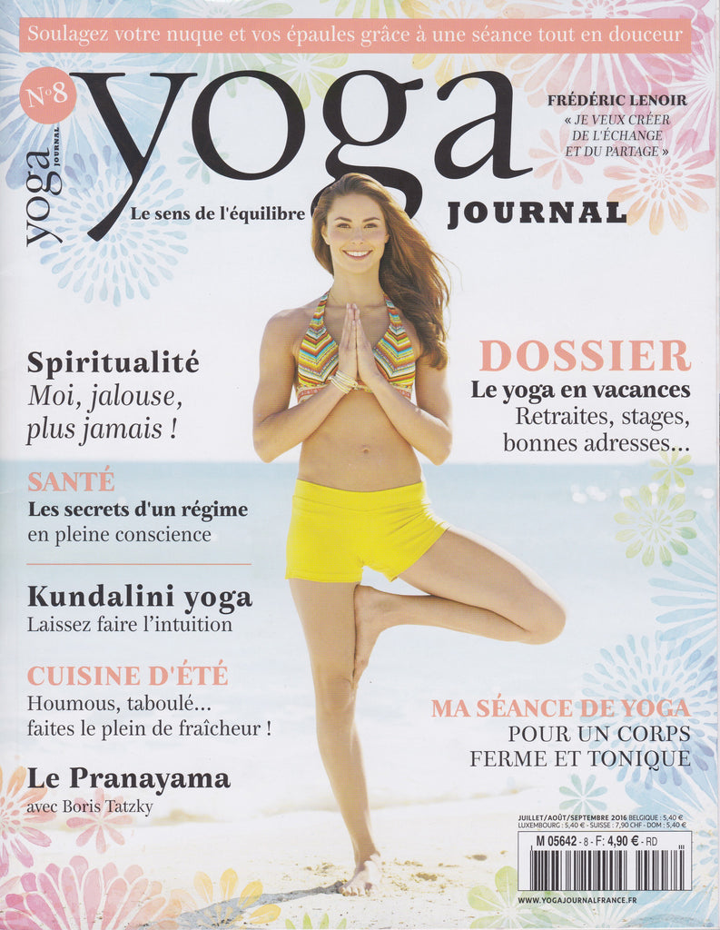Yoga Journal France 2016 Cover