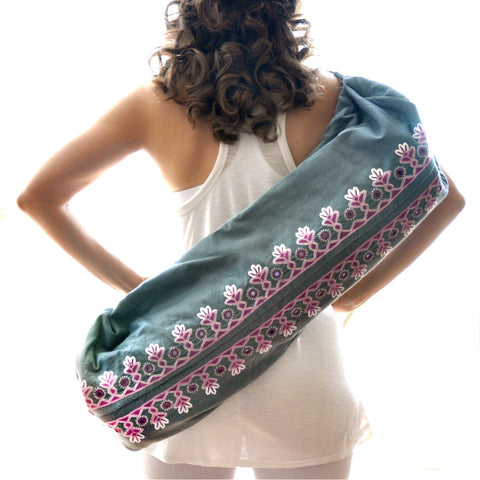 Divine Intuition Yoga Bag - 2 Zip Style