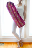 Enlightened Yoga Bag - Fuchsia (Rabari)