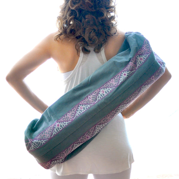 Enlightened Yoga Bag - Grey (Rabari)