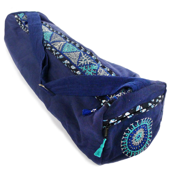 Enlightened Yoga Bag - Indigo (Rabari)
