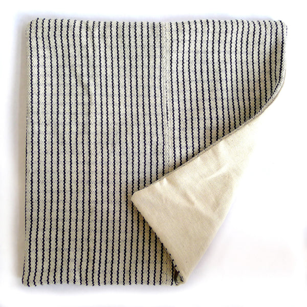 Handwoven Pillow - Black & White