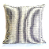 Nomad Pillow - Handwoven in Black & White