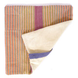 Handwoven Pillow - Pink Stripe