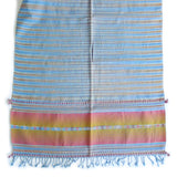 Seaside Scarf - Handwoven Cotton - Sand