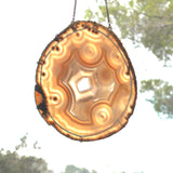 Agate Suncatcher  - Large