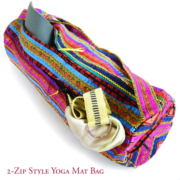Treasured Yoga Bag - 2 Zip Style