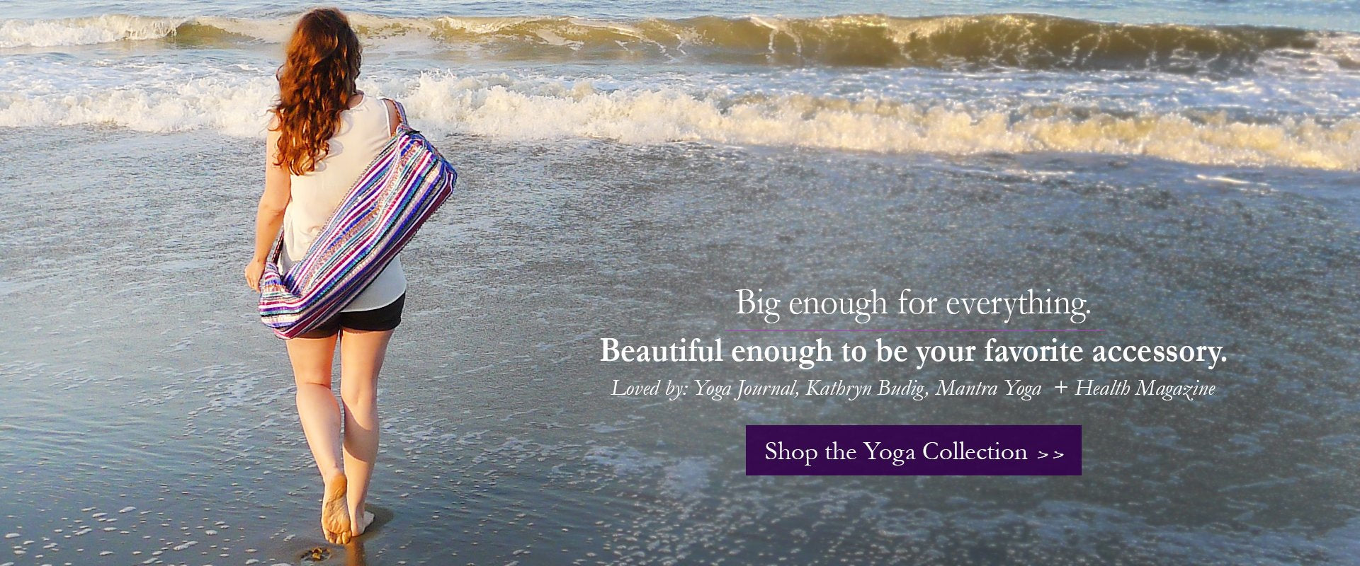 Ethical, Fair Trade and Handmade Yoga Bags and Accessories