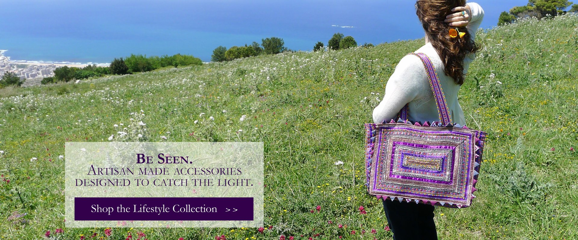 Luxury handmade fair trade silk and cotton bandhani scarves and accessories
