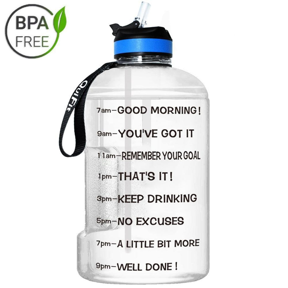 Motivational Water Bottle