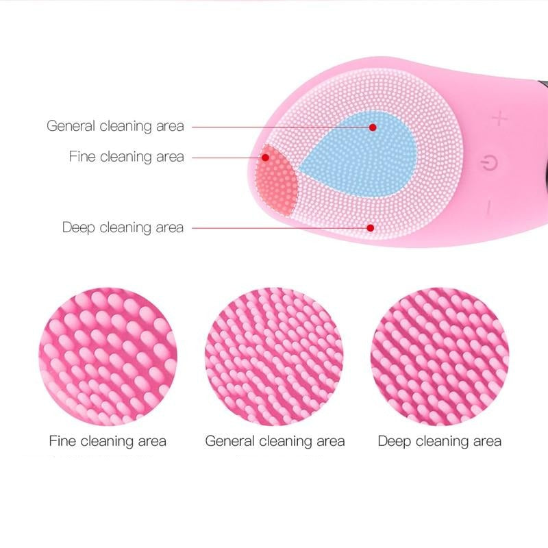 Healthy Skin - Facial Cleansing Brush