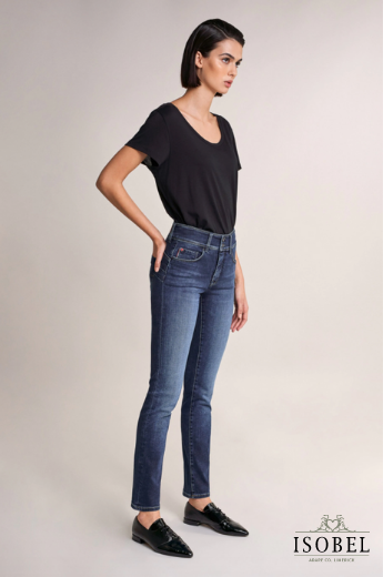 Salsa Push in Secret Dark Denim Jeans