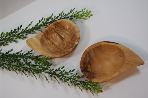 Olivewood Glory - Tear Shaped Dishes - Nasselquist Jewellers