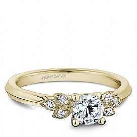 Noam Carver - Diamond Engagement Ring (BAND SOLD SEPARATELY) - Nasselquist Jewellers