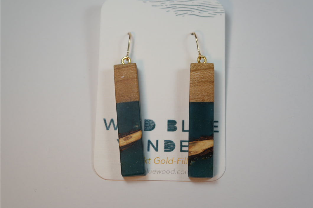 Wild Blue Yonder - Reclaimed Dangle - Nasselquist Jewellers