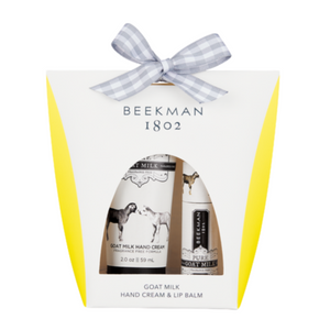 Beekman - Hand Cream & Lip Balm Gift Set