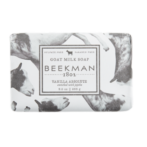 Beekman - Pure Goat Milk Soap Bar Vanilla Absolute