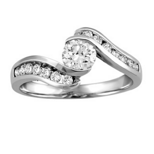 Canadian Diamond Engagement Ring - Nasselquist Jewellers