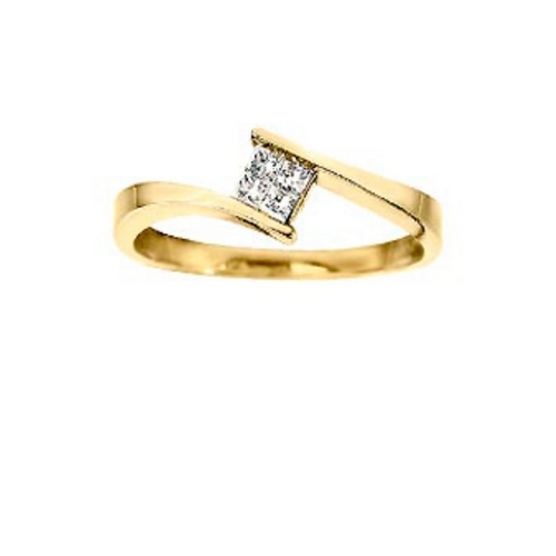 Quad Diamond Ring - Nasselquist Jewellers