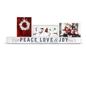Holiday - White Christmas Photo Holder