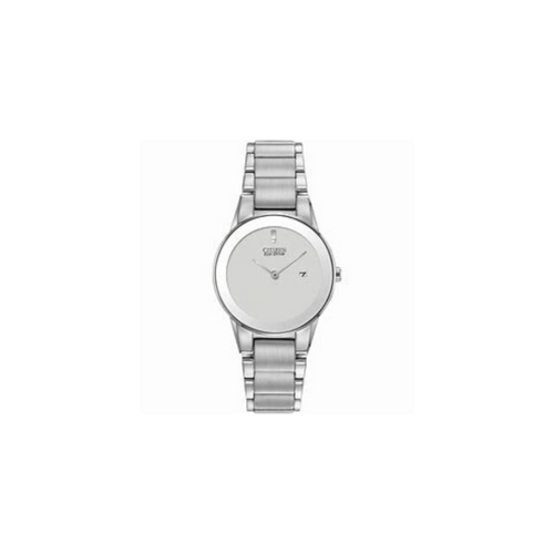 CITIZEN - Axiom Silver Ladies Eco-Drive Watch - Nasselquist Jewellers
