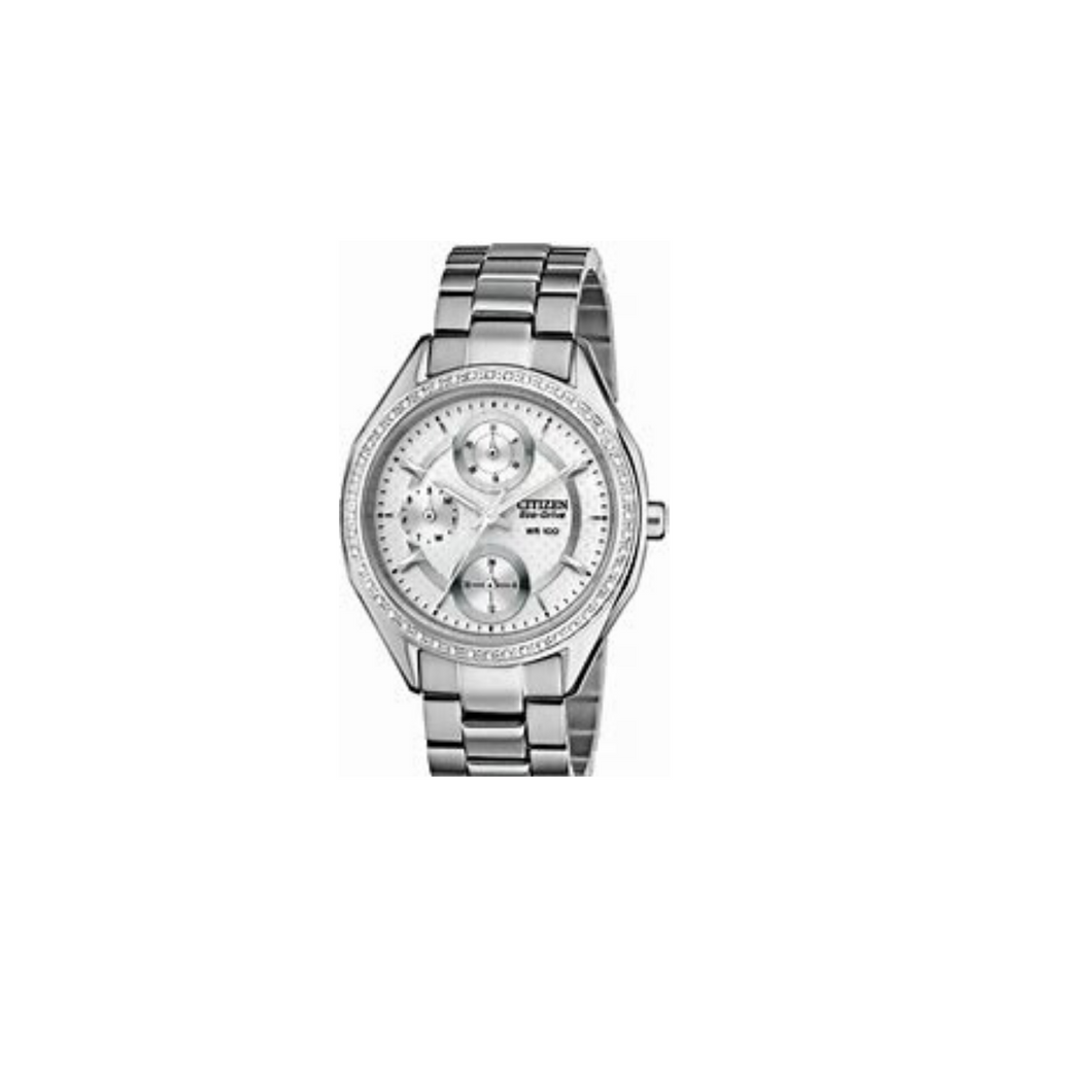 CITIZEN - Silver Ladies Eco-Drive Watch - Nasselquist Jewellers