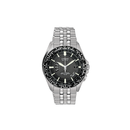 CITIZEN - World Perpetual A-T Mens Eco Drive Watch - Nasselquist Jewellers