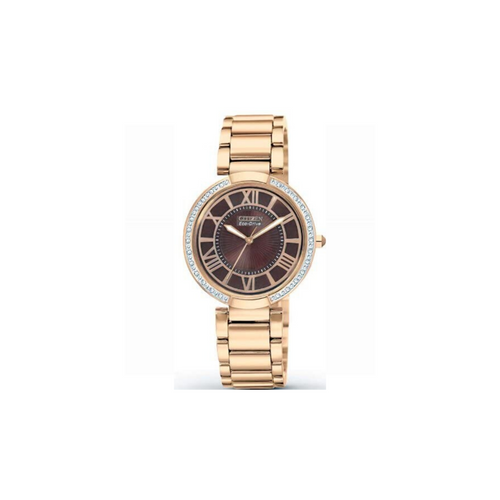 CITIZEN - d'Orsay Rose Gold Eco-Drive Ladies Watch - Nasselquist Jewellers
