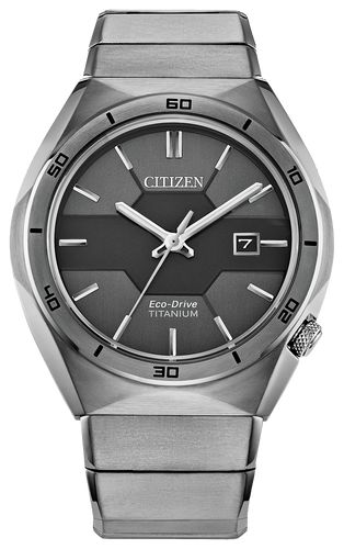 Citizen Eco Drive Super Titanium TM Armor Mens Watch