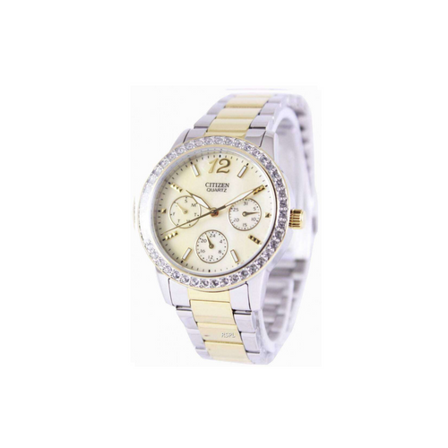 CITIZEN - Quartz Swarovski Crystal Ladies Watch - Nasselquist Jewellers