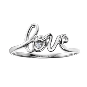 Love Ring (available in white and yellow gold)
