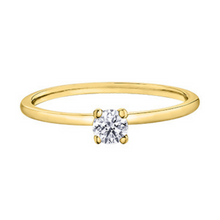 Load image into Gallery viewer, Solitaire Diamond Engagement Ring