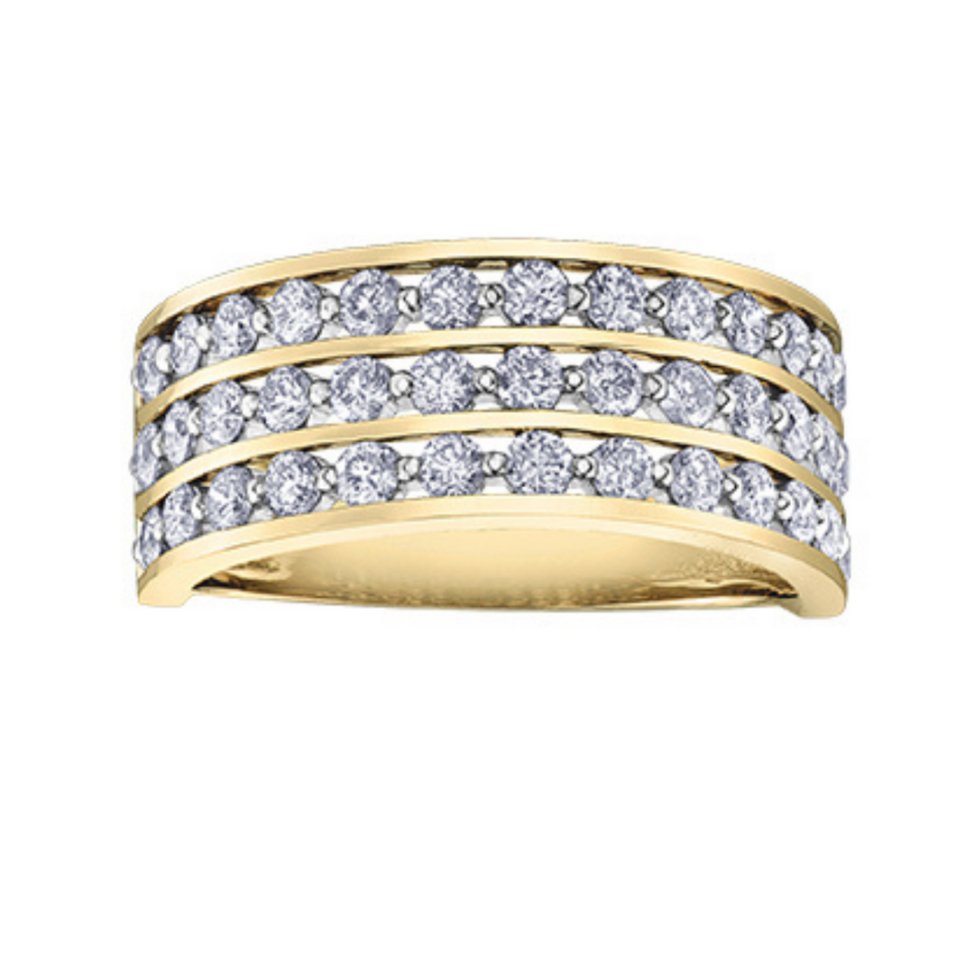 Diamond Envy Wide Diamond Ring