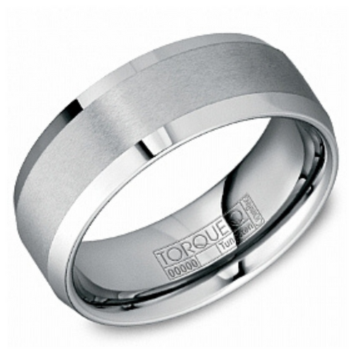 Tungsten Alternative Metal Band - Nasselquist Jewellers