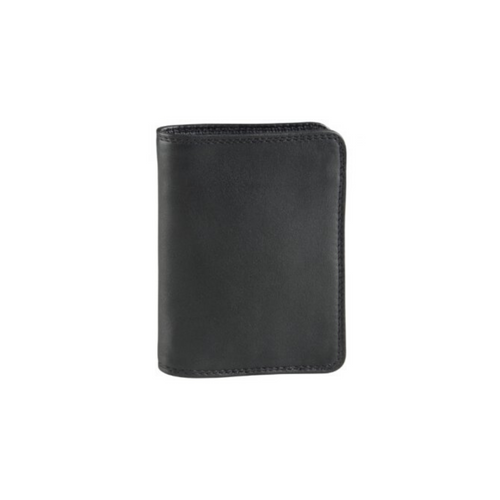 Derek Alexander - Slim Show Card w/centre Zip Mens Wallet - Nasselquist Jewellers