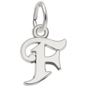 Rembrandt Charms - Letter Initial Charms - Nasselquist Jewellers