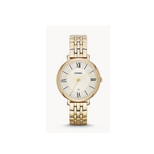 FOSSIL - Jacqueline Gold-Tone Stainless Steel Watch - Nasselquist Jewellers