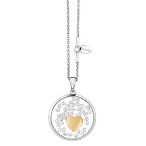 Astra Jewellery - Heart Charm Necklace - Nasselquist Jewellers