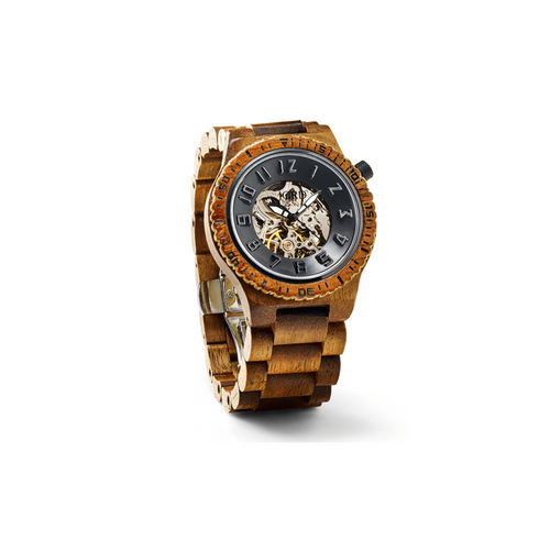 JORD - DOVER Koa & Black Ladies WOODEN Watch - Nasselquist Jewellers