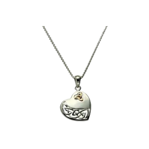 Keith Jack - Celtic Heart Pendant & Earring Set - Nasselquist Jewellers