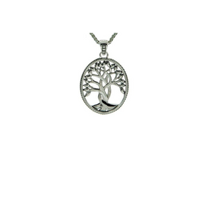 Keith Jack - Tree of Life Silver Pendant - Nasselquist Jewellers