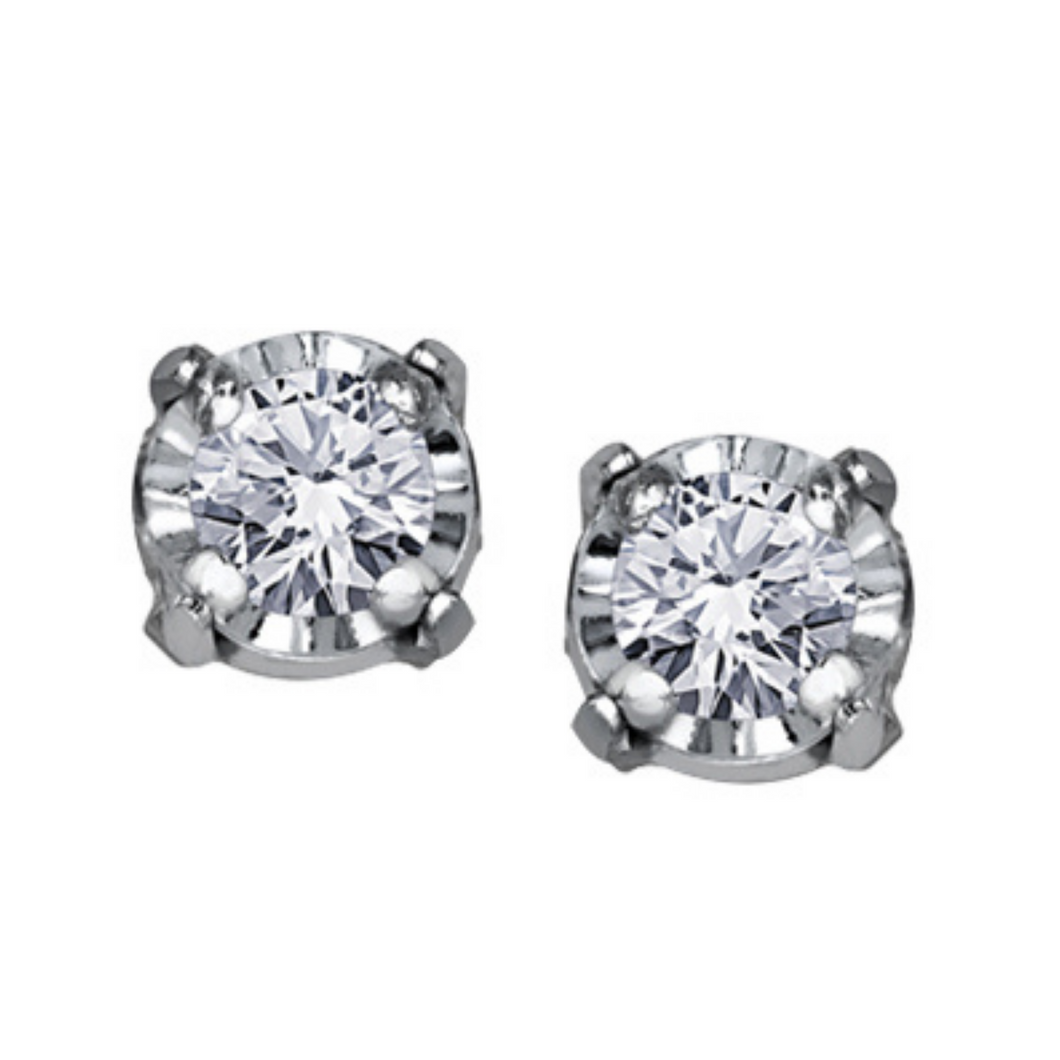 Illuminaire - Diamond Studs .04ct