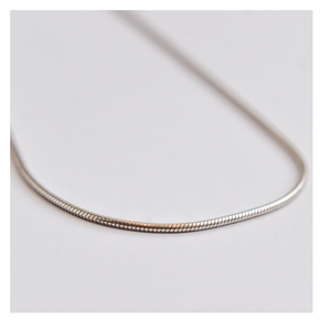 Silver Chain Snake Link