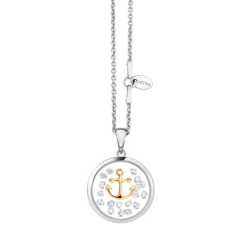Astra Jewellery - Anchor Charm Necklace - Nasselquist Jewellers