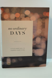 "Compendium - Inspirational Book ""no ordinary DAYS"" - Nasselquist Jewellers"