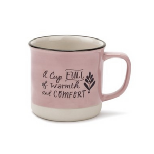 Mug - A Cup FULL of warmth and COMFORT