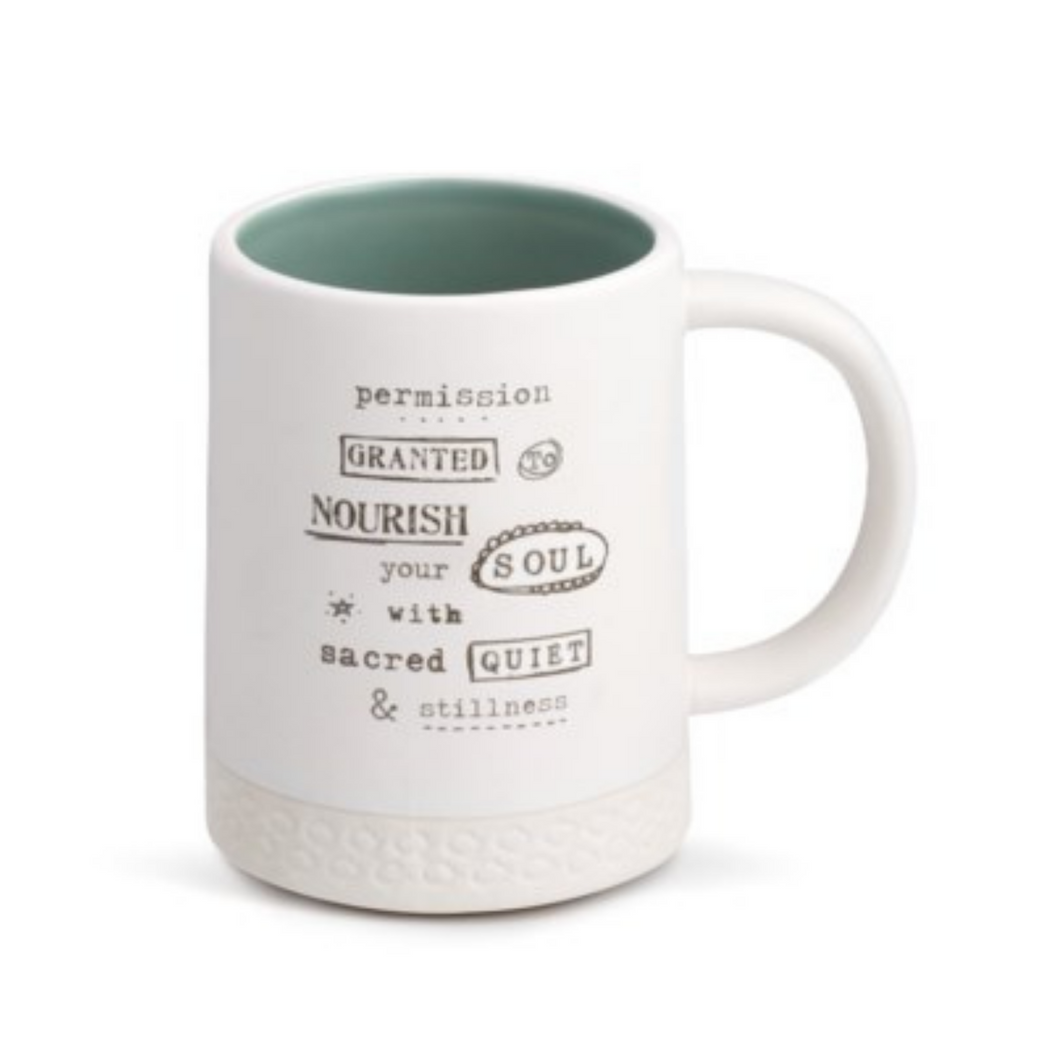 Kelly Rae Roberts Collection - Permission to Nourish Mug